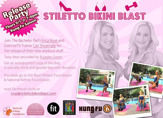 Stiletto Bikini Blast DVD Release Party with Erica Rose