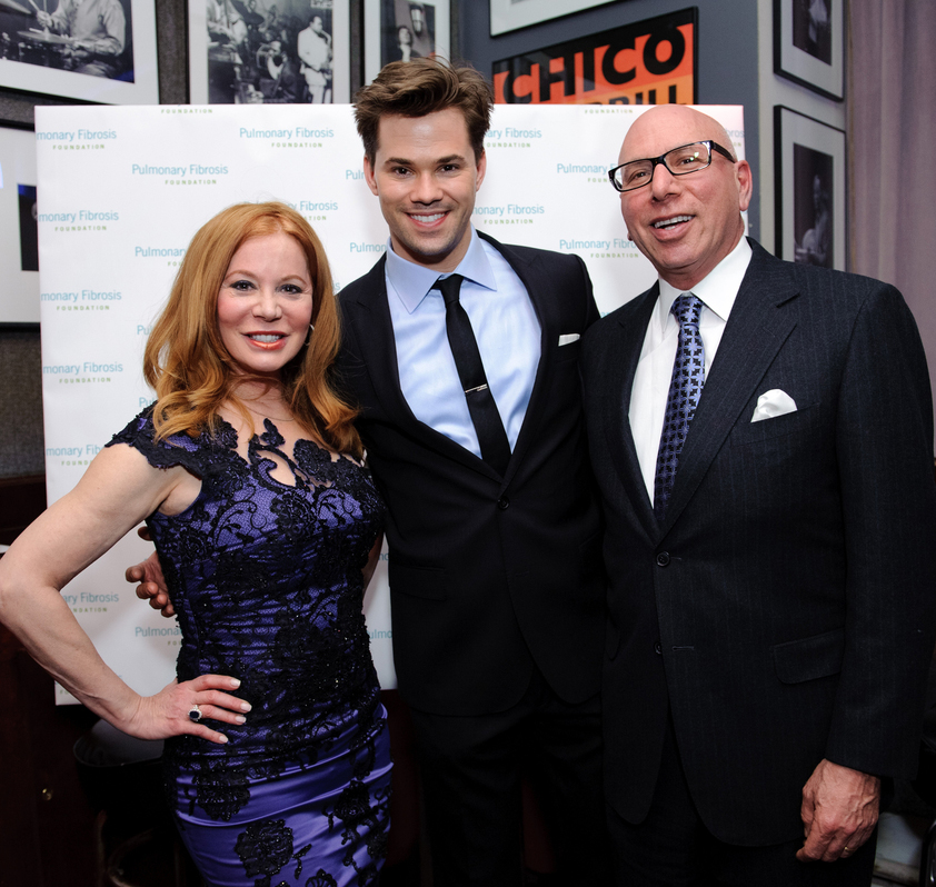 Cindi Rose, Andrew Rannels and Dr. Franklin Rose at Broadway Belts for PFF 2012 NYC. Photo Copyright © 2012 Chris Owyoung