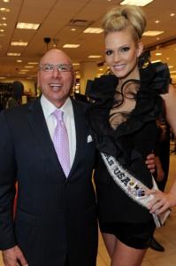 Dr. Franklin Rose & Brittney Booker, Miss Texas 2012