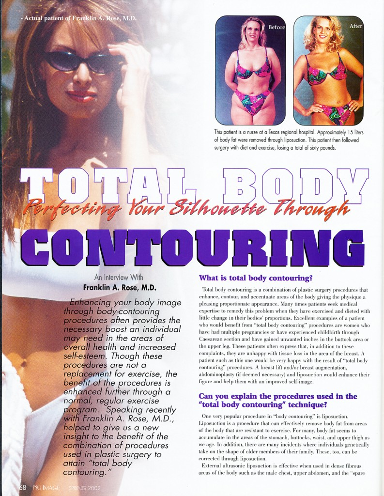 Total Body Contouring by Dr. Franklin Rose, MD
