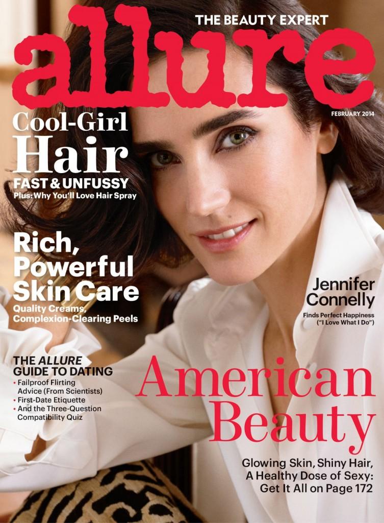 February Allure Magazine