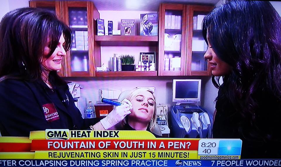 See the SkinPen as featured on Good Morning America