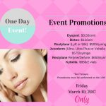 ONE-DAY Injectable Event! Friday March 10
