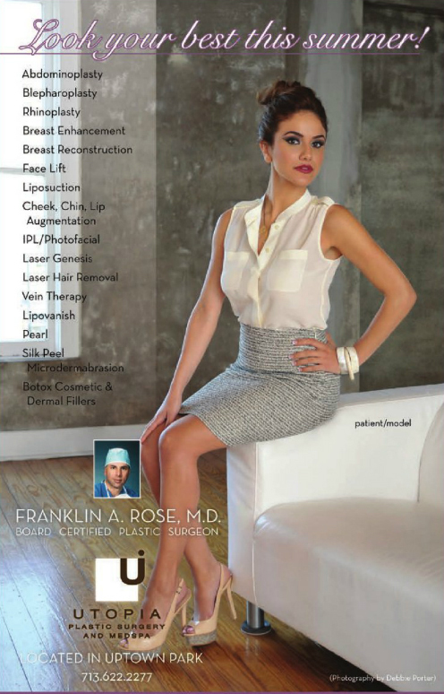 Check out our lovely model & patient as featured in 002 Magazine - photo by Debbie Porter