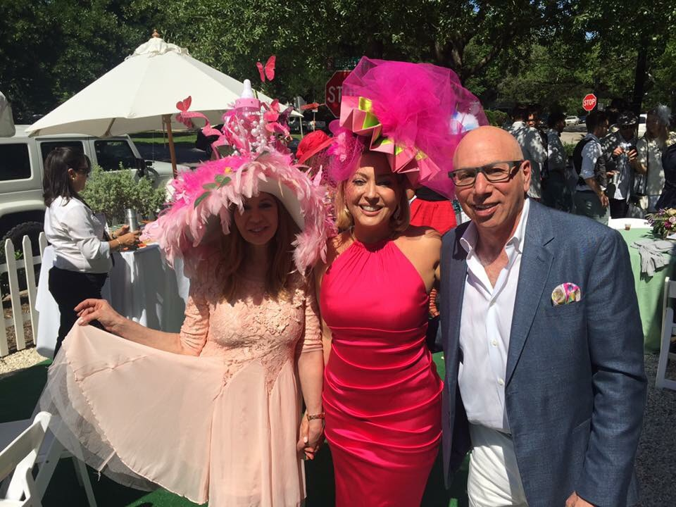 HRRF Founder Cindi Rose, 2018 #HollyRoseDerby Honoree Lily Paxson, and Dr. Franklin Rose