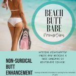 Beach Butt Babe: Non-Surgical Butt Lift from Utopia MedSpa!