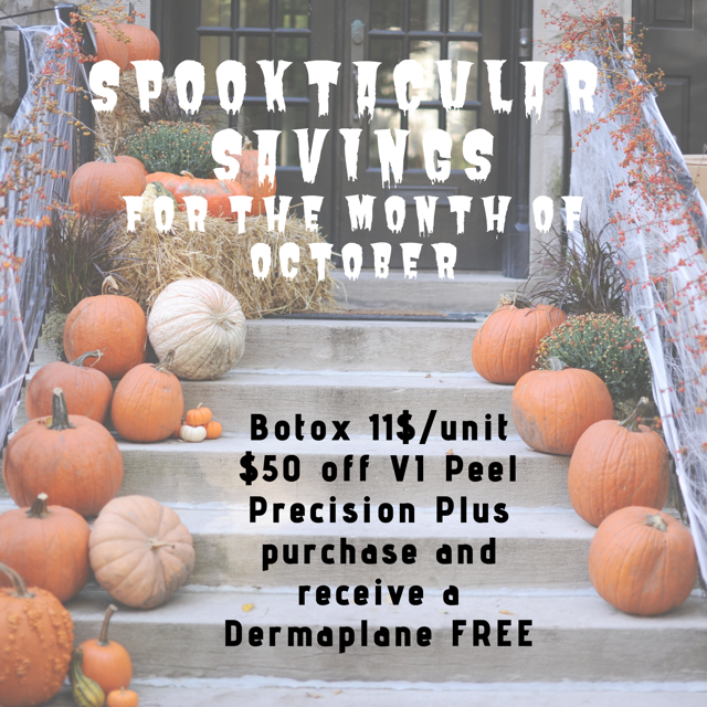 October Spa SPOOKtacular Savings!