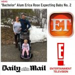 'Bachelor' Alum Erica Rose Pregnant With Second Child! As Featured on Entertainment Tonight