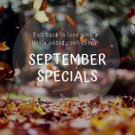 September Spa Specials - Dr. Franklin Rose & Utopia MedSpa