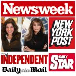 Melania Mania! As Featured in NewsWeek, NYPost, more