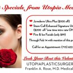 Valentines Spa Specials