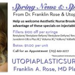 Utopia Welcomes Aesthetic Nurse Brooke Gary